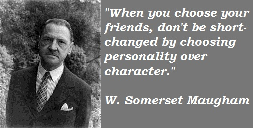Somerset Maugham Born: January 25,