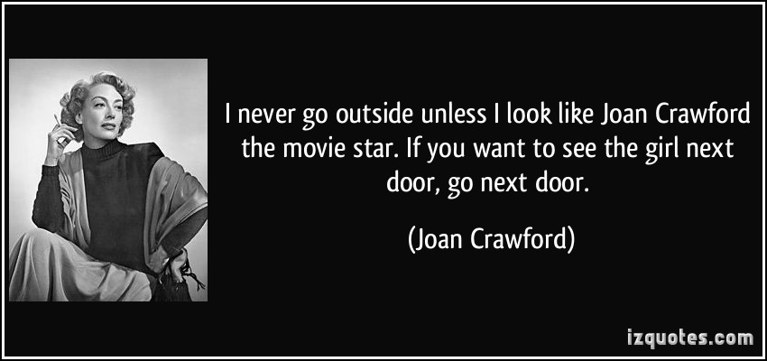 Joan Crawford Born: March 23