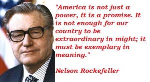 Nelson Rockefeller Born: July 8
