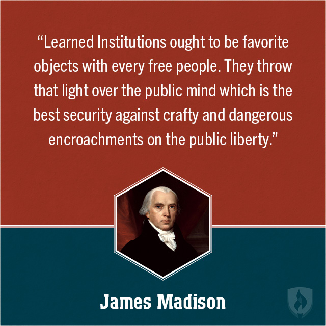 James Madison Born: March 16