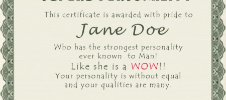 certificate-personality-aparna