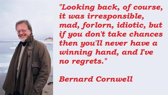 Bernard Cornwell, Novelist, Born : 23rd February