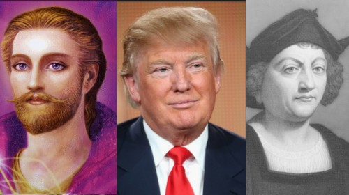 President Donald Trump is an aspect of Saint Germain who was also Christopher Columbus
